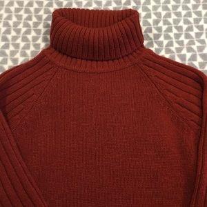 Men's wool turtleneck